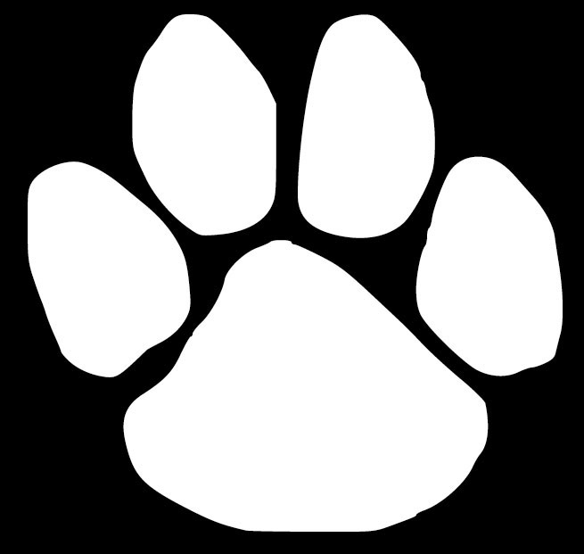 dog paw print decal decal design shop tiger paw clip art lsu tiger paw clipart free
