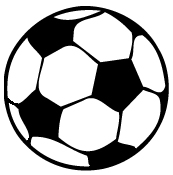 Soccer Ball Iron On Decal Decal Design Shop