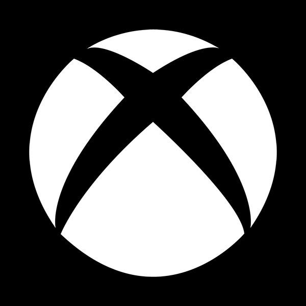 xbox logo black and white - photo #4